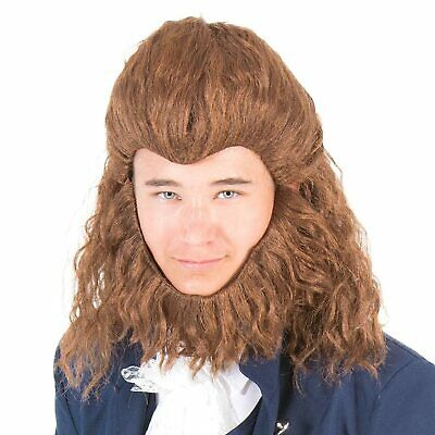 BEAST WIG World Book Day-Stage Panto-Beauty and the Beast-Accessories WOLF MAN