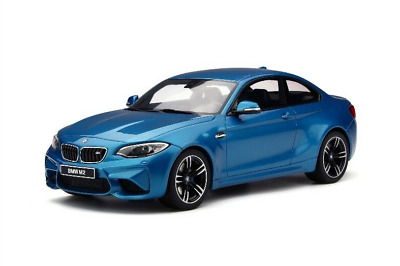 Original BMW Miniature M2 F87 Coupe Long Beach 1:18 Collector Model 80432454833