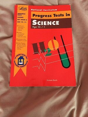 Home schooling KS2 Progress Tests Science 10-11 by Graham Booth (Paperback 1996)