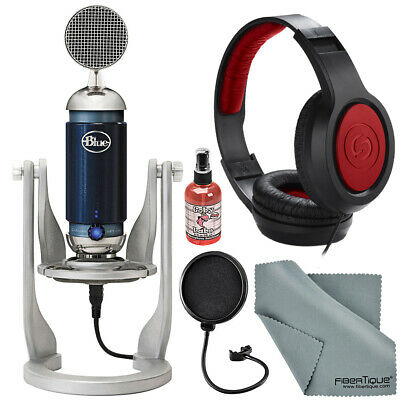 Blue Spark Digital Studio Condenser USB/Lightning Microphone for PC/Mac/iPad and