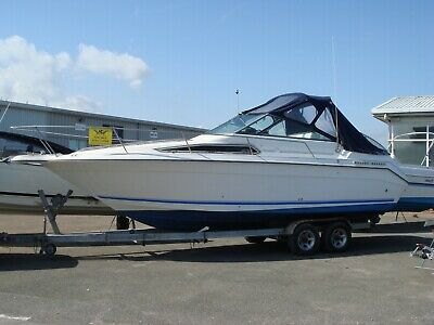 Searay 270 Sundancer - Diesel Yanmar Bravo III drive. Boat Power Boat
