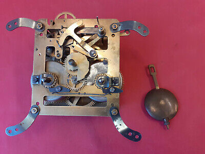 Hermle 8 Day Striking Clock Movement with pendulum and gong ~ Type 178.28