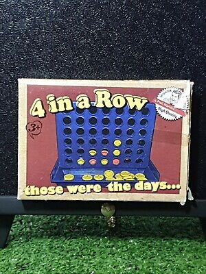 4 In A Row Classic Grid Family Trips Travel Traditional Board Game Fun
