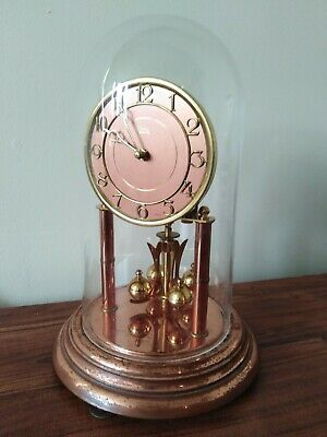 Vintage Koma Anniversary Clock... 10 inches high... Spares/repairs