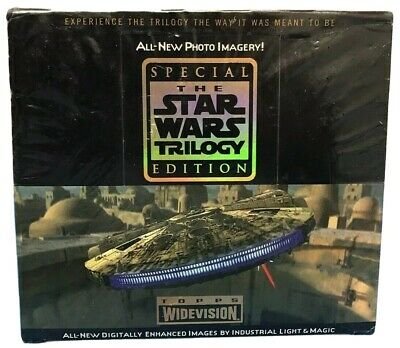 Topps Widevision The Star Wars Trilogy Special Edition Boxed Box Cards New 1997