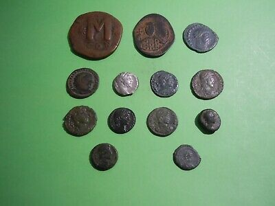 13 Ancient Roman/Byzantine/Greek coin Lot