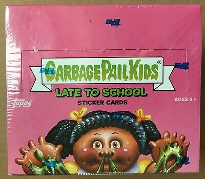 2020 Topps Garbage Pail Kids Late to School Hobby Box 24 Packs