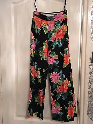 girls river island summer trousers age 9 to 10
