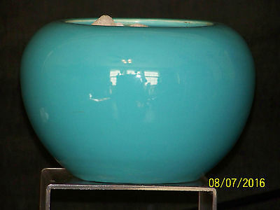 Bauer American Art Pottery Fred Johnson c1930's Hand Thrown Rose Bowl