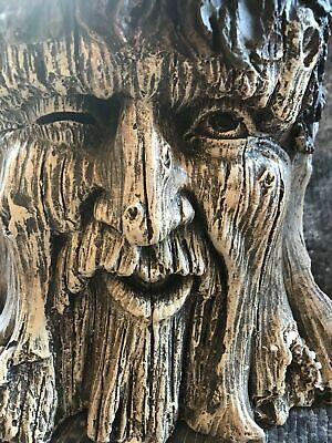 Latex Mould for making This Stunning  large winking tree man flower pot/stand