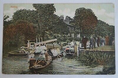 Goring London England Vintage Antiquarian Collectable Postcard.