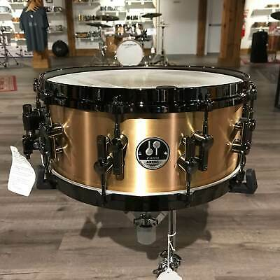 Used Sonor Artist Bronze Snare Drum 14x6 High Gloss Bronze