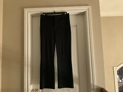 Black Size 6 NYDJ DRESS PANTS WITH LIFT AND TUCK TECHNOLOGY