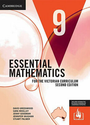 NEW Essential Mathematics for the Victorian Curriculum Year 9 - Second Edition B
