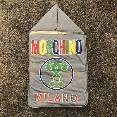 Moschino Baby Stroller Cover Blanket Bag