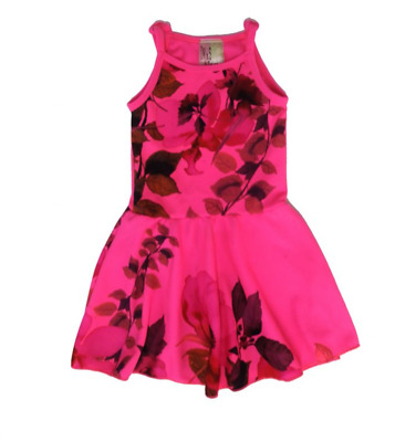 Twirls & Twigs Girls Size 14 Colorful Floral Flare Dress Nwot Runs Small Read