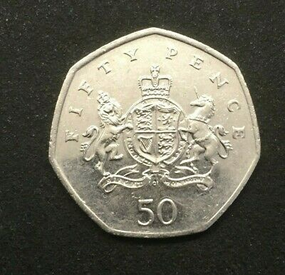 Christopher Ironside 2013 50p coin Fifty pence Coat of Arms........