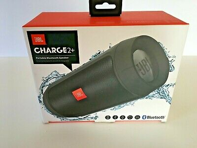 JBL Charge 2 Plus Portable Wireless Bluetooth Speaker Black
