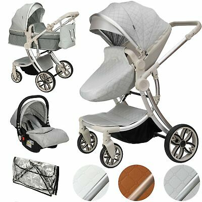ib style® JUMA stroller combination pushchair pram buggy car seat optional
