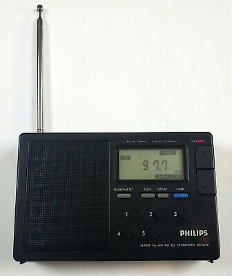 Philips AE3805 Digital World Band Receiver (Tested Working)