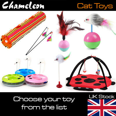 Multi Choice Cat Kitten Toys Rods,Fur Mice, Bells, Balls, Catnip,