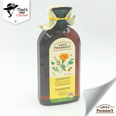 Green Pharmacy Shampoo For Oily Hair With Calendula 350ml