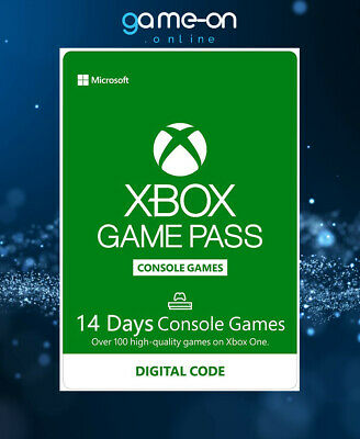 Microsoft Xbox Game Pass 14 Day Trial Global Digital Code