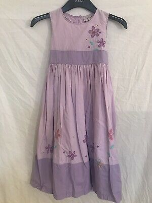 Next Girls Party/Summer Dress Purple Age 7