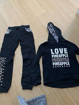 Girls Pineapple Tracksuit Age 9-10 Years