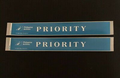 PAL Phillipine Airlines PR Priority Business Class Stickers Express Bag Tag