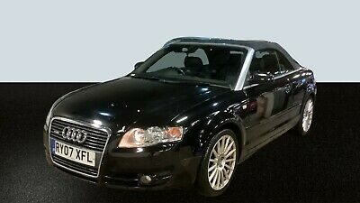 2007 Audi A4 Cabriolet 2.0 Tdi S Line - Convertible, Leather, Alloys