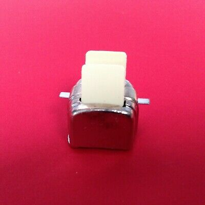 1:12 Scale Red /& White Ceramic Butter Dish Tumdee Dolls House Accessory CRR17