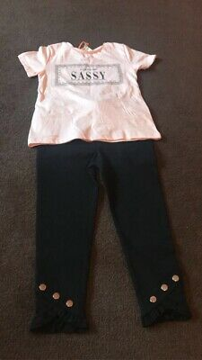 Girls River Island Outfit 3-4years