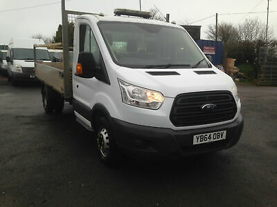 Ford Transit 350 LWB RWD 125PS Dropside Twin Wheel 2014
