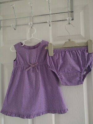 Baby Gap Baby Girls Dress Set Age 6-9-12Months Very Pretty Summer Holidays