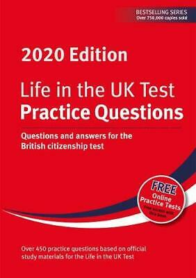 Life in the UK Test: Practice Questions 2020 Paperback NEW Book