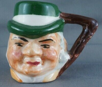 Vintage Hand Painted Artone Tony Weller Toby Character Jug 1 3/4""