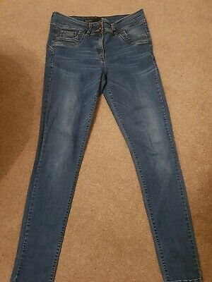 Next Skinny Lift And Shape Jeans Size 12long