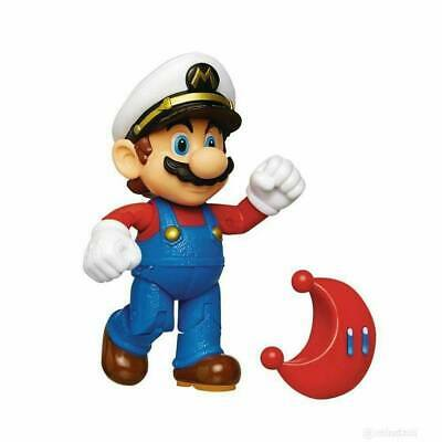 World of Nintendo Action Figure Wave 15 Cappy Captain Mario with Moon