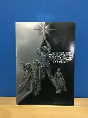 Star Wars - La Trilogia - Collector's DVD Box Set - 4 DVD - Fuori Catalogo
