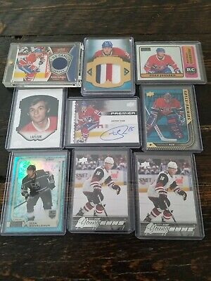 Montreal Canadiens Card Lot Max Domi Gallagher Juulsen Shaw Roy Pacioretty...