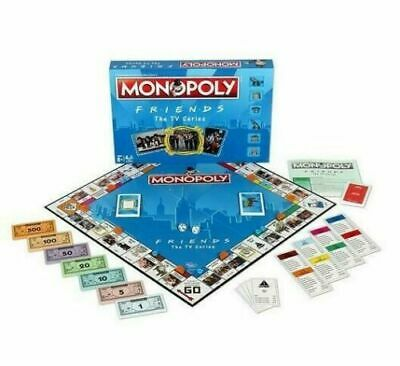 Friends Monopoly: The Board Game - UK Stock