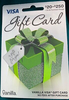 Gift Card $200.00 Activated No Fees After Purchase Free Shipping