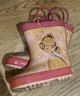 baby girl wellies size 4 Startrite