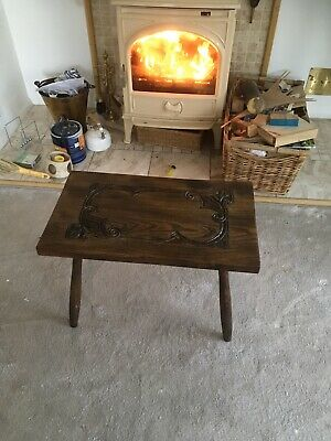 Small Arts And Crafts Oak Table