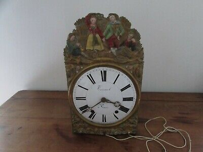 Antique Movement Mechanism Assembly Clock