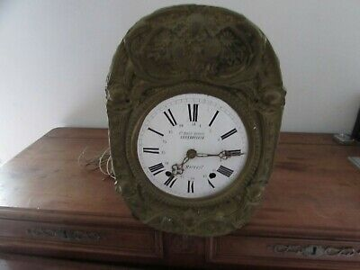 Antique Movement D Mechanism Clock