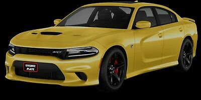 Sto N Sho License Plate Bracket for 2015-18 Dodge Charger Hellcat Removable