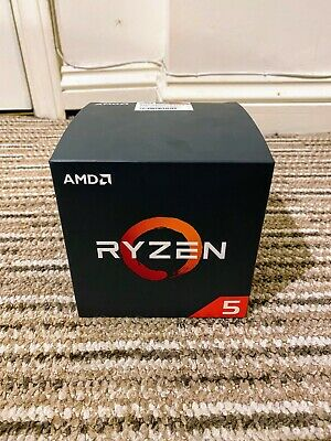 AMD Ryzen 5 2600 3.4GHz 6 Cores AM4 CPU 16MB Cache - Boxed and Wraith Cooler