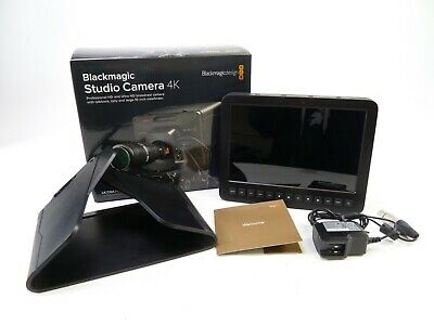 Blackmagic Studio Camera 4K 2 w/ Micro 4/3rds Lens Mount and in OEM Box, in EC.